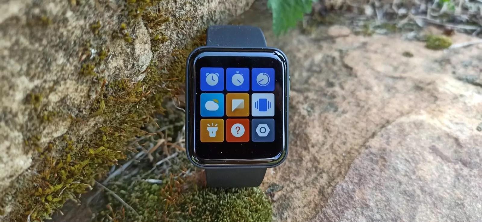 Mi Watch Lite menu fonctionnalités 2