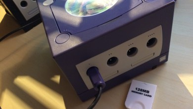 Gamecube memory card