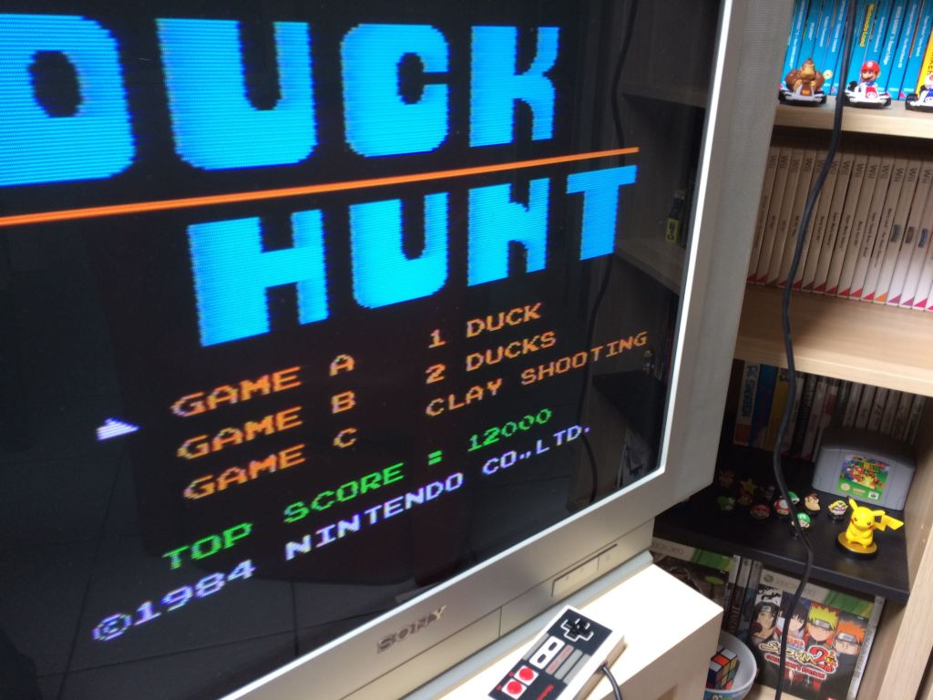 Duck Hunt sur NES