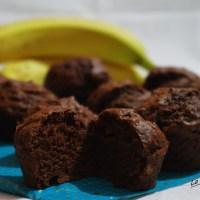 Muffins choco banane - Vegan