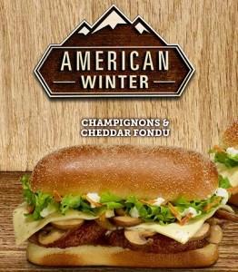 Burger végétarien Mc Donald's