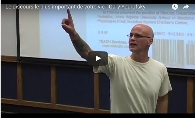 Gary Yourofsky – Le discours le plus important de votre vie (vidéo)
