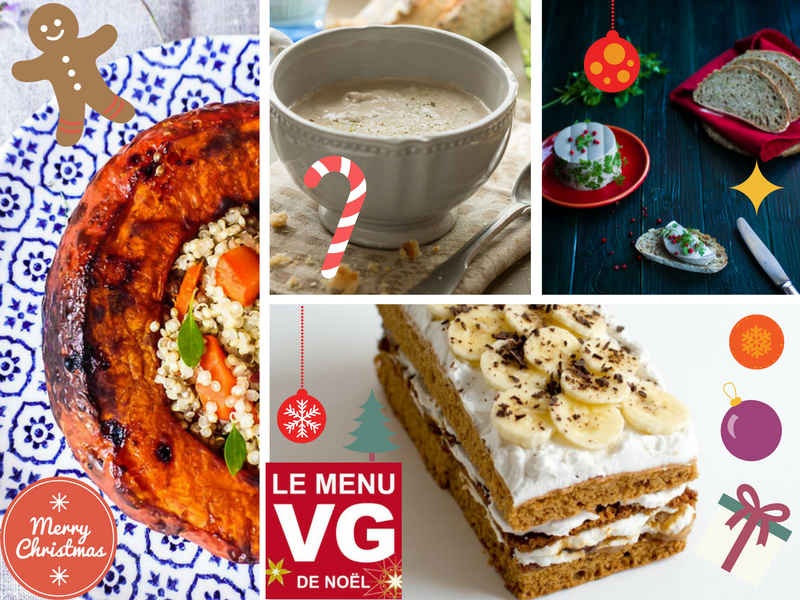 Menu VG du vendredi – un noël vegan