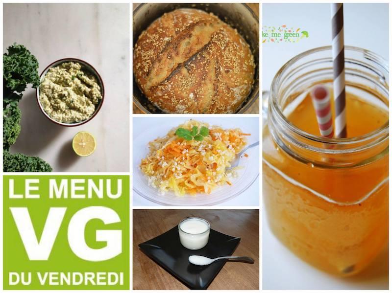 Menu VG du vendredi – spécial aliments fermentés