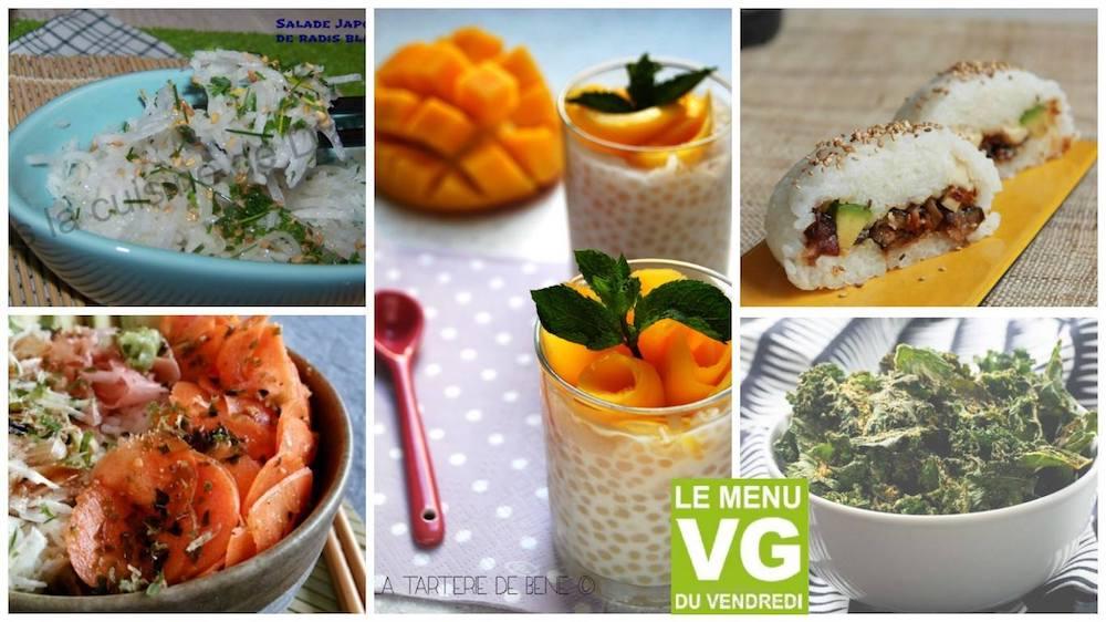 Menu VG du vendredi – Sushi party