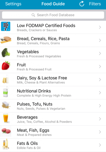 Le carnet d'Anne-So - Monash University application FODMAP