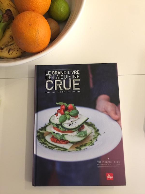 Le carnet d'Anne-So - Le grand livre de la cuisine crue + recette