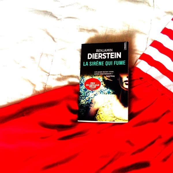 Avis de lecture sur le roman la sirène qui fume de Benjamin Dierstein
