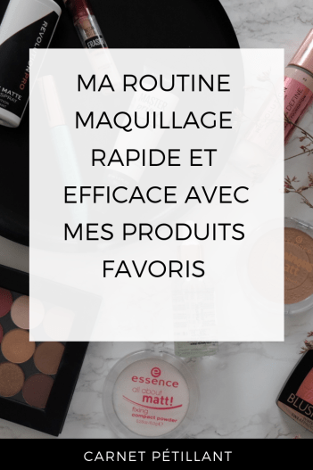 Mes indispensables #maquillage