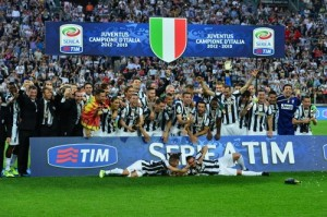 La Juventus campione in carica