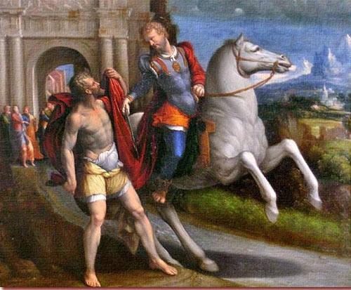 San Martino Vescovo Di Tours Leccezionale Salento