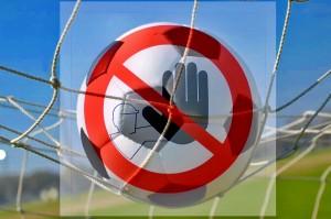 pallone vietato