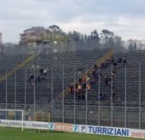 tifosi a Frosinone