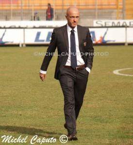 Franco Lerda in piedi