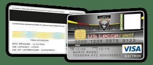 Us Lecce Card Tessera del tifoso Lecce