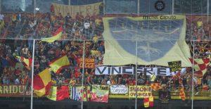 tifosi del Lecce a Foggia