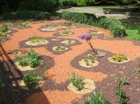 création au parc de la Mothe