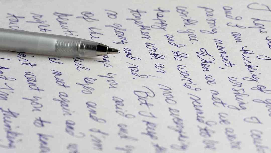Ejemplo de escritura a mano | Le Chat Magazine