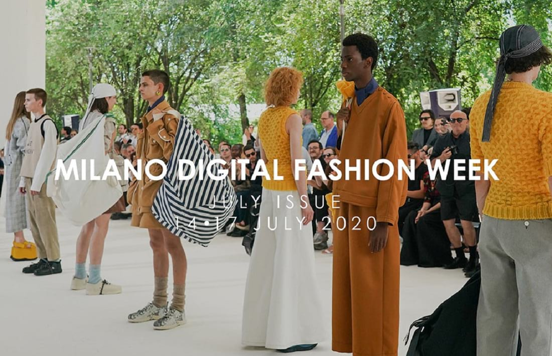 Tal como hizo México, la semana de la moda italiana será digital. La Milan Fashion Week llegará en julio, con la temporada Primavera-verano 2021.