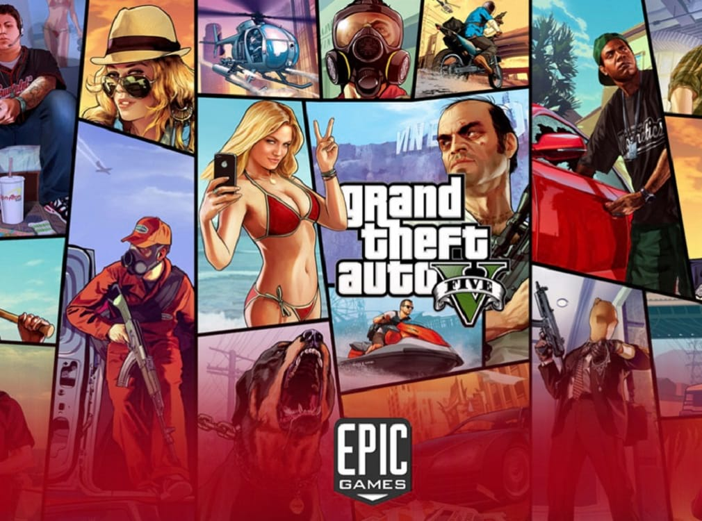 Portada del juego Grand Theft Auto, GTA V   cine   le chat magazine
