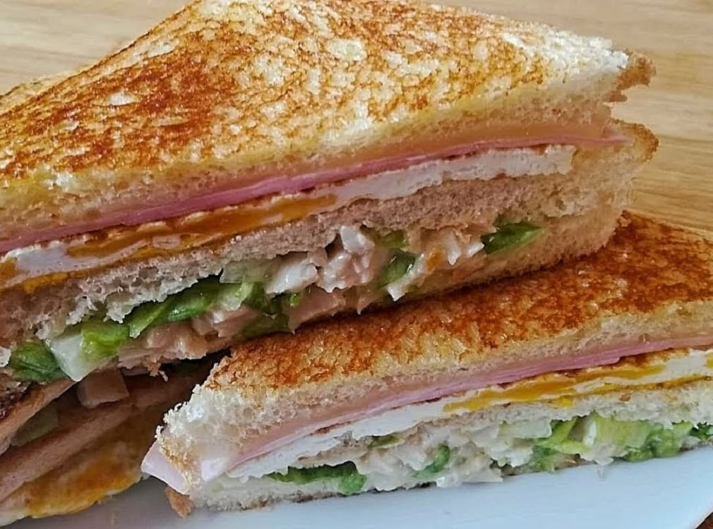 Receta sándwich de Pollo