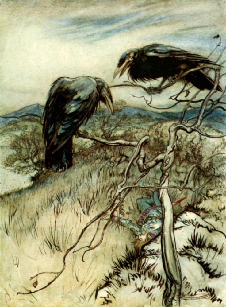 Le Corbeau et les Celtes