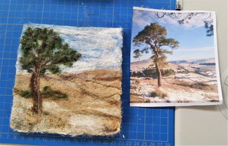 Needle Felted Landscapes - A Beginner's Workshop