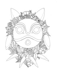 Mononoke Hime's mask