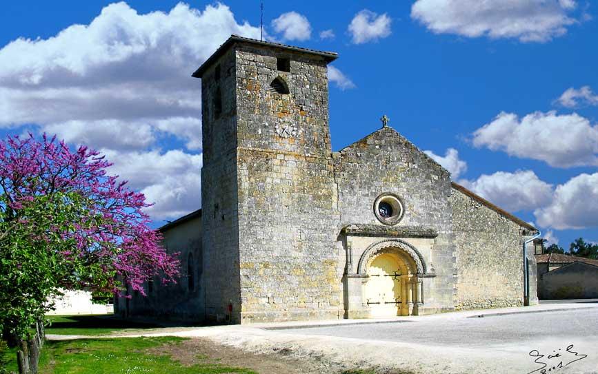 église saint aubin du médoc
