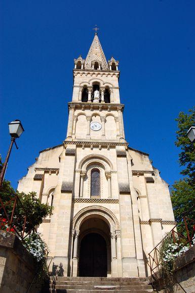 Eglise Saint Cibard Meilhan-sur-Garonne