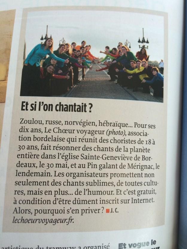 Le Point, 4 juin 2014