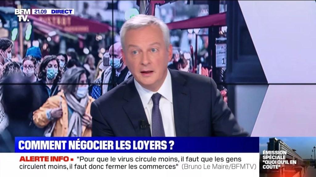 Bruno Le Maire aides