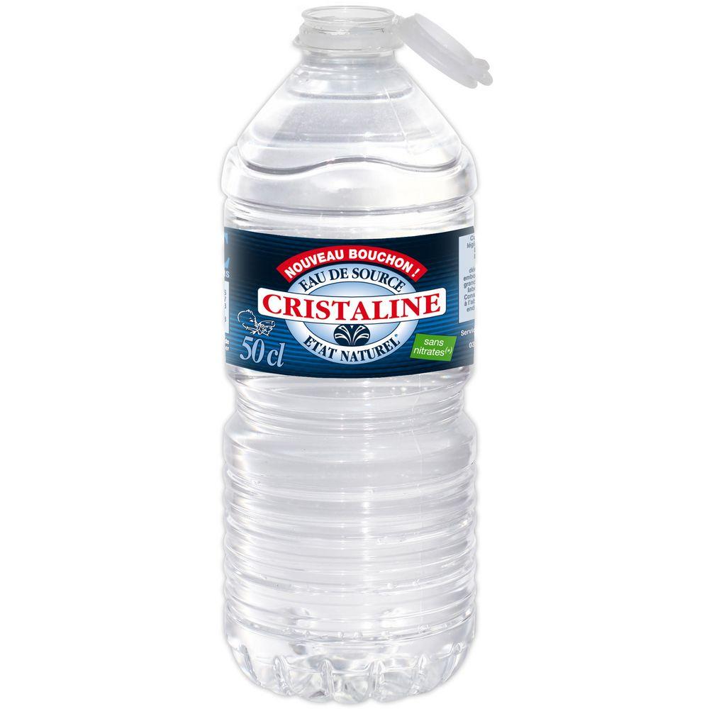 Bouteille d'eau Christaline 50cL