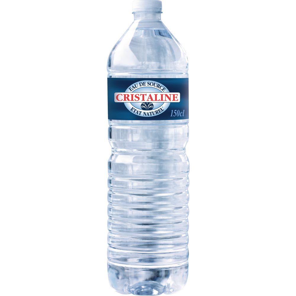 Bouteille d'eau Christaline 1,5L