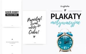 Motywacyjne plakaty z cytatami do druku