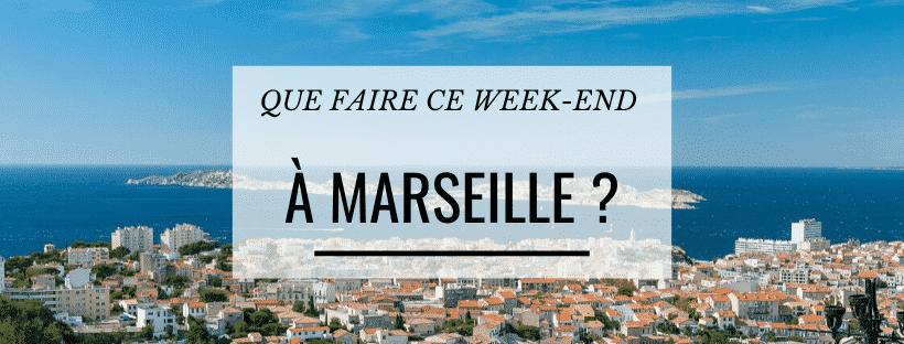 Que faire ce week-end à Marseille ? (18-19 janvier)