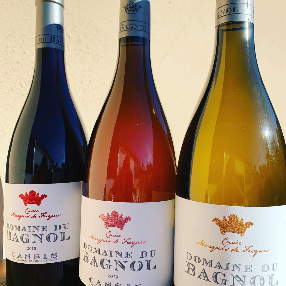 Domaine de vins à Cassis