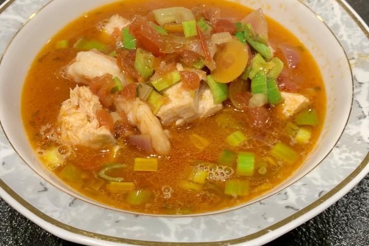 Sardische Fischsuppe
