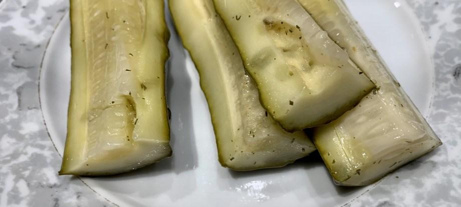 Eingelegte Gurken