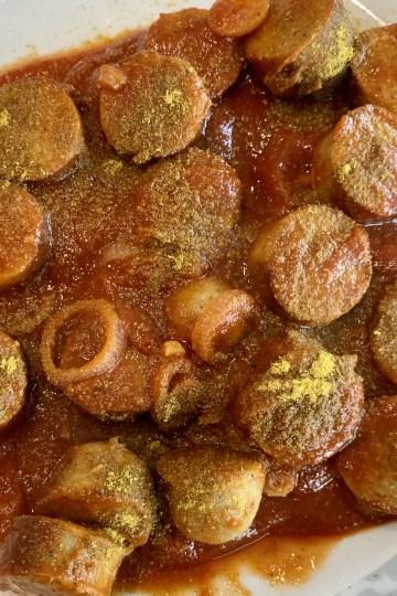 Scharfe Currysauce