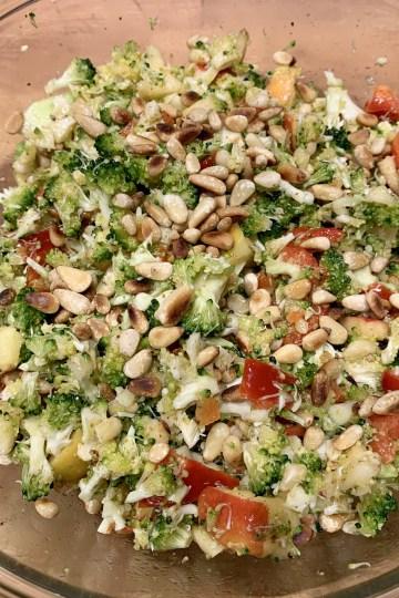 Brokkoli Apfel Salat
