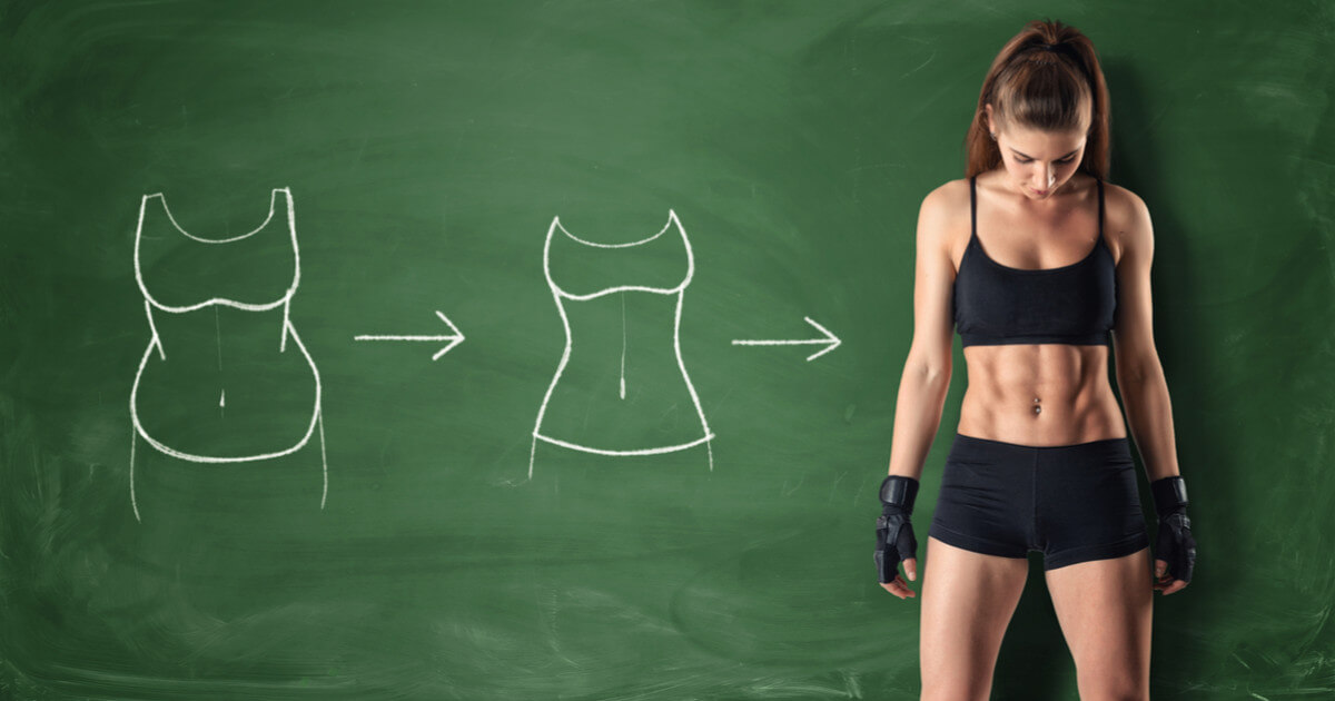 Convert fat to muscle as a woman