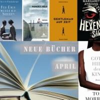 Neuerscheinungen auf dem deutschen Buchmarkt April 2017