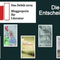 Bloggerpreis Das Debüt 2019