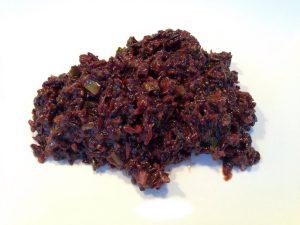 Risotto aus schwarzem Venere Reis mit Tomaten