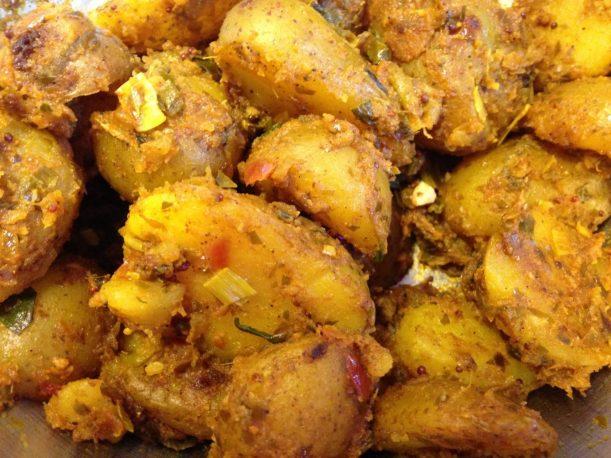 Indische Curry Kartoffeln
