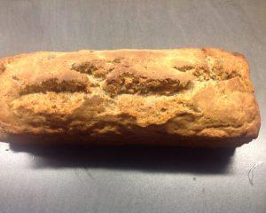 5 Minuten Sauerteig Brot mit Nüssen