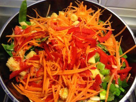 Pad Thai Gemüse