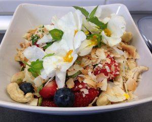 Götterfrühstück mit Cystusblüten