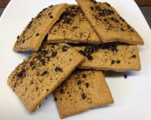 Kichererbsen Cracker